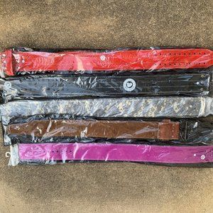 Weightlifting Belts and Straps